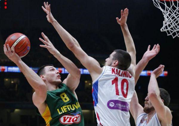 Srbija litvanija evrobasket