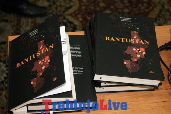 knjiga bantustan predstavljena u trebinju