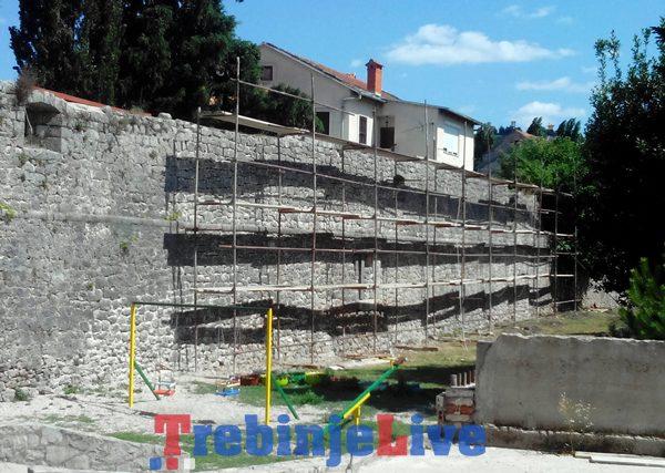 sanacija zidina starog grada