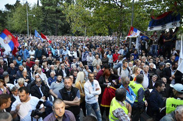 Protesti podgorica crna gora