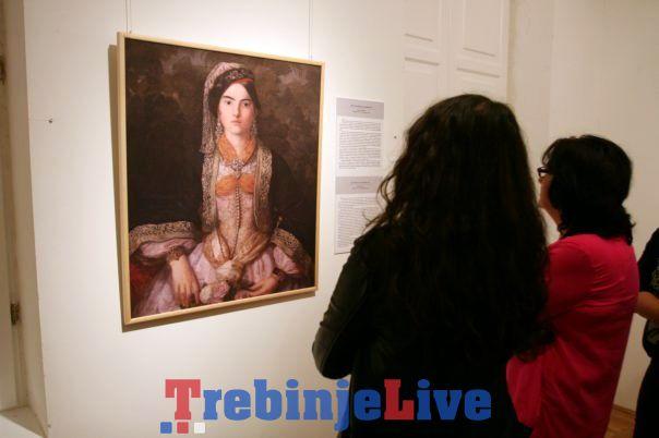 izlozba srpska umjetnost u deset slika u trebinju