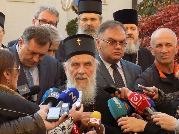 Patrijarh i politicari iz srpske u bijeljini
