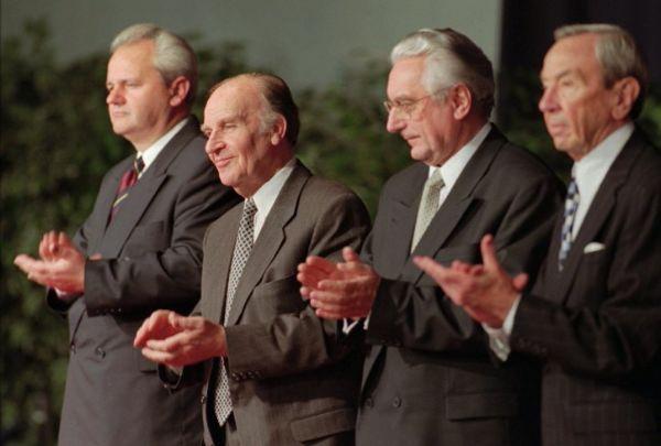 Milosevic, izetbegovic, tudjman