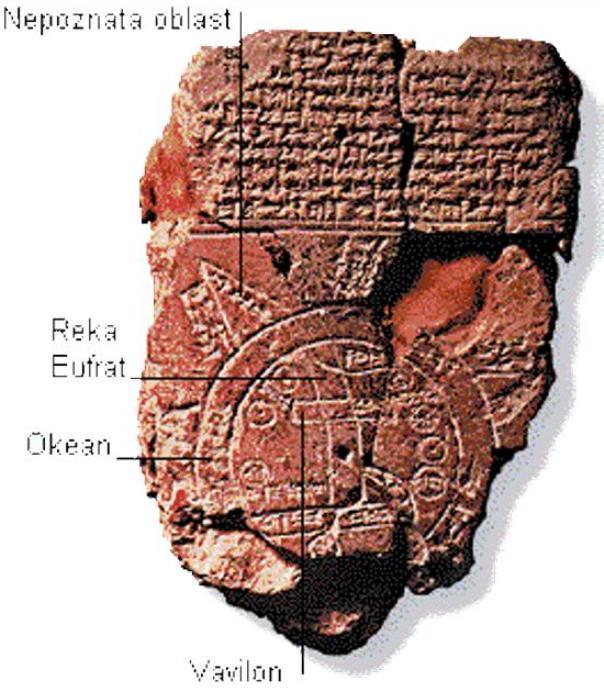 najstarija mapa