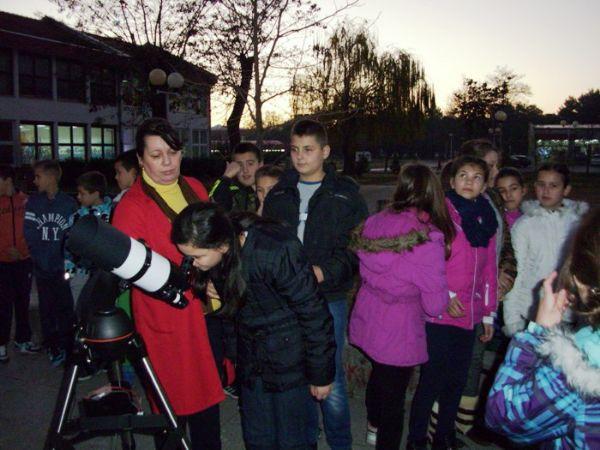 Posmatranje Mjeseca skola Bregovi