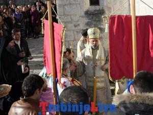 krsna slava manastira zavala sveto vavedenje