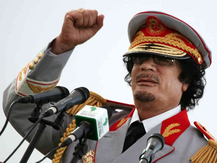 libija gadafi
