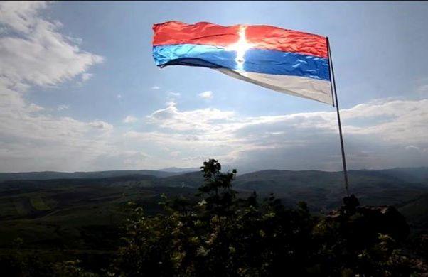 srpska zastava krst od sunca