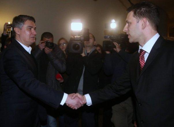zoran milanovic bozo petrov sdp most vlada hrvatska