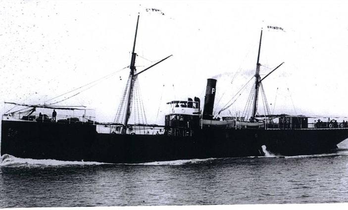 Brindizi u plovidbi 1916-min