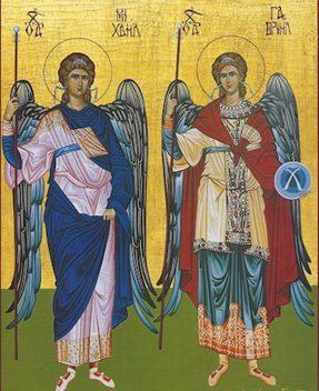 ikona arhangela mihaila i gavrila
