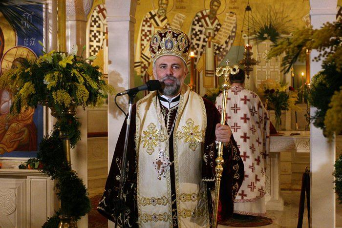 liturgija bozic vladika grigorije trebinje 2016