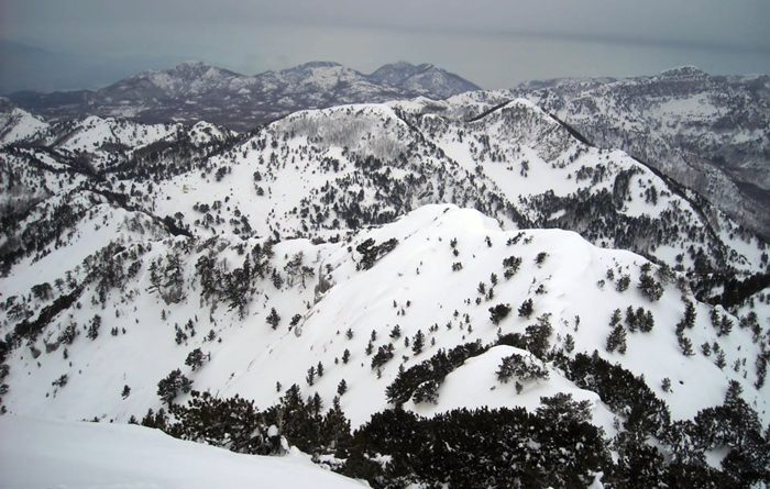 orjen snijeg