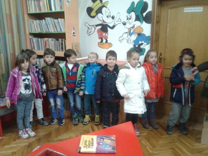 Skola cerovac posjeta narodnoj biblioteci