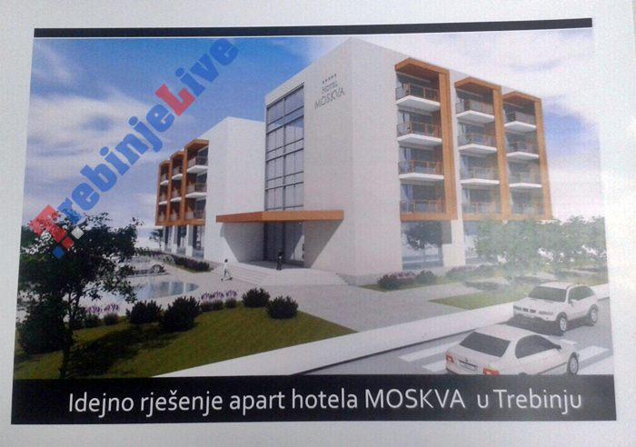 rusi grade hotel u Trebinju