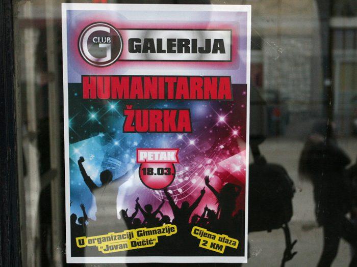 gimnazija jovan ducic humanitarna zurka