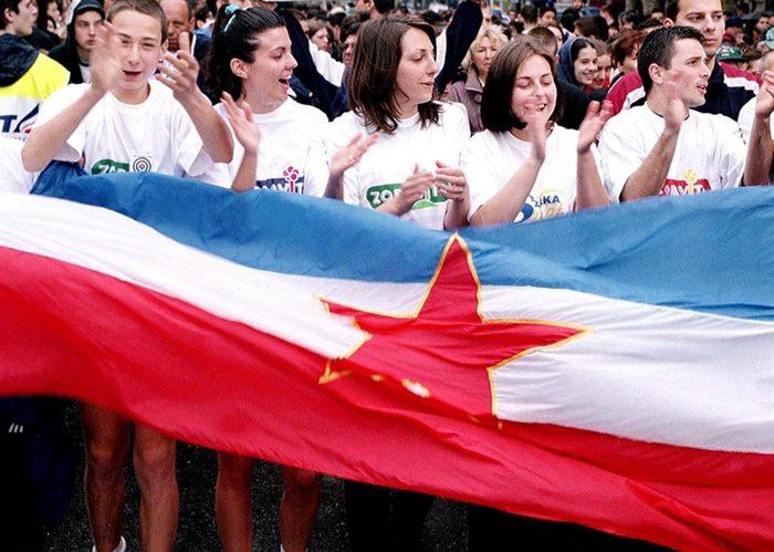 Jugoslavija zastava