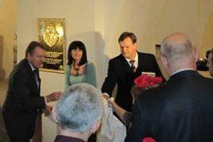 spomen ploca savi vladislavicu u blagovestanskoj crkvi