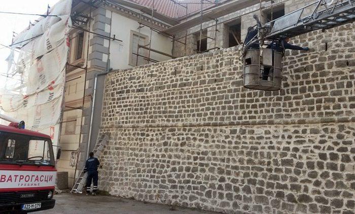 zidine starog grada ciscenje
