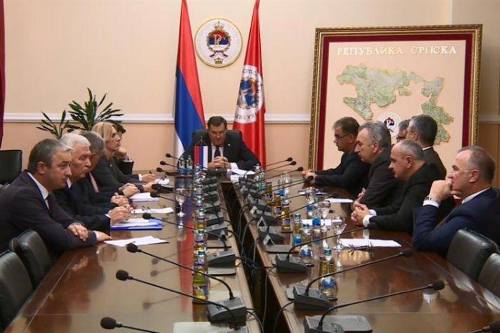 Sastanak srpskih lidera kod dodika