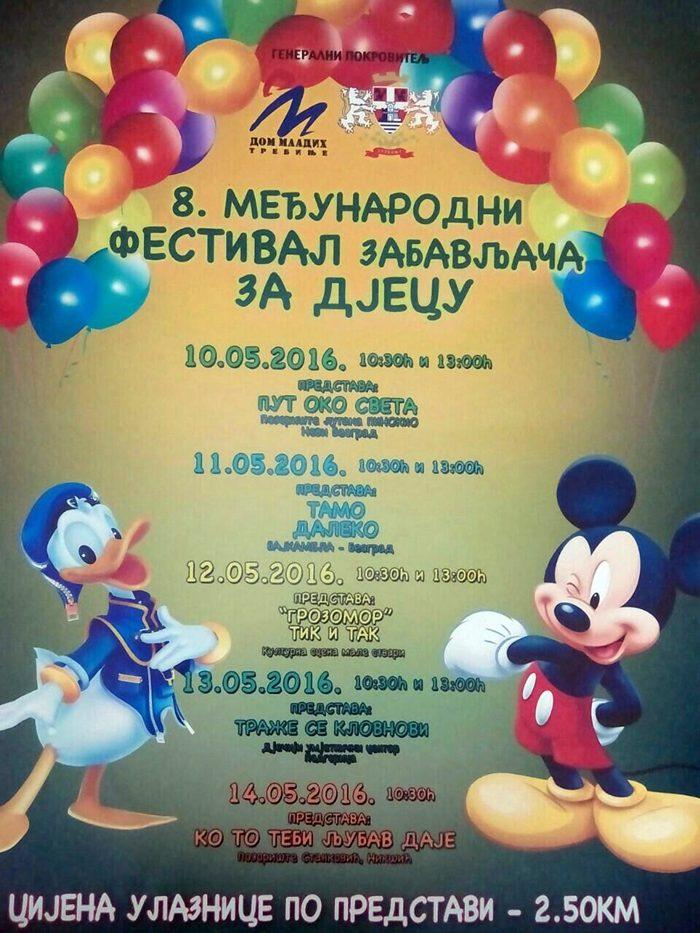 festival zabavljaca za djecu