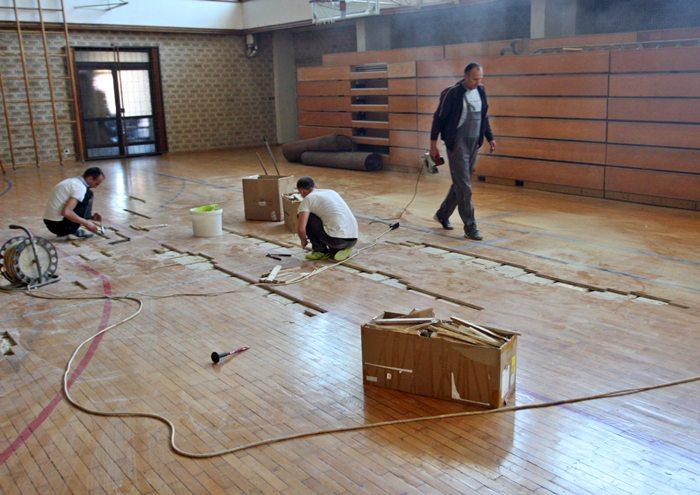 rekonstrukcija sportska dvorana milos mrdic