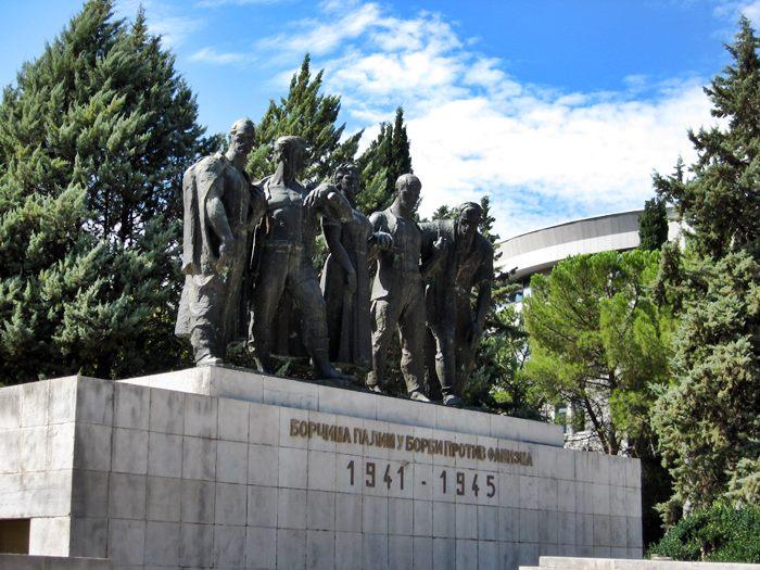 spomenik borcima pali u borbi protiv fasizma