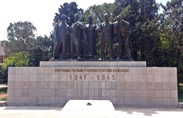 spomenik borcima trebinje