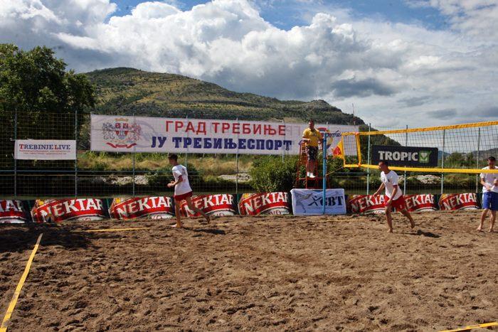 odbojka na pijesku trebinje turnir