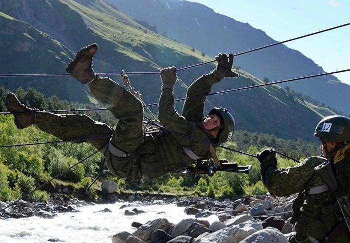 ruski vojni planinari takmicenje