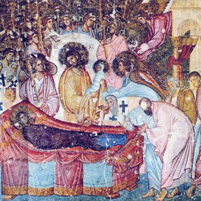 freska uspenja bogorodice