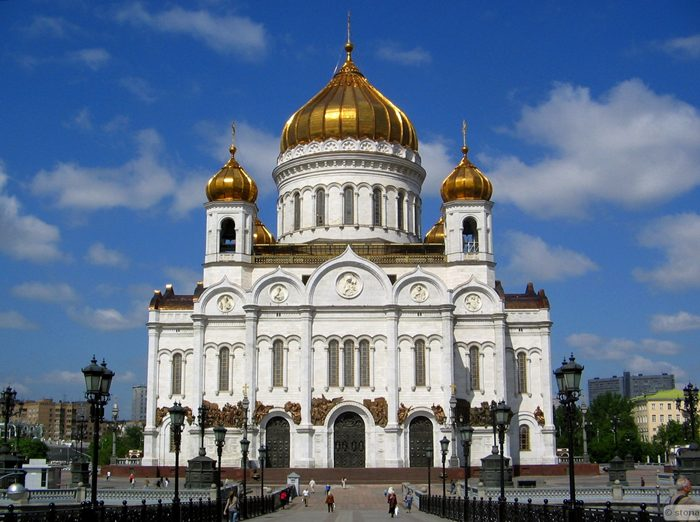 hram hrista spasitelja moskva