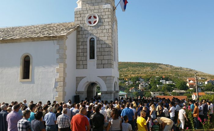 osvestanje crkve mostar