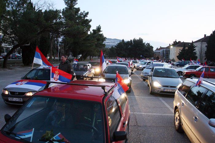kolona automobila dan rs trebinje 2017