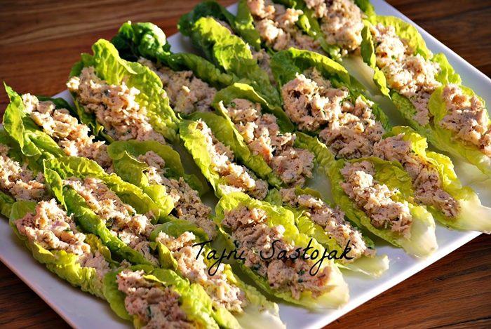 salata sa piletinom i sampinjonima
