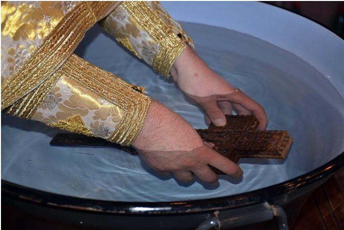 potapanje krsta