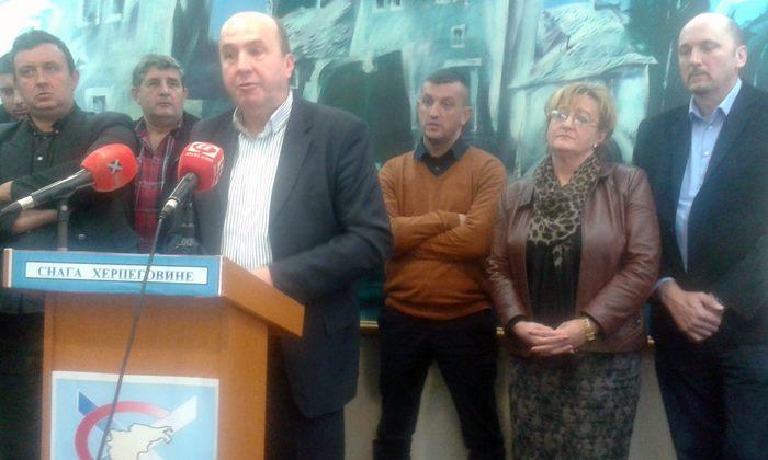 Snaga Hercegovine - nova politička partija