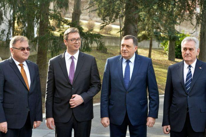Ivanic, Vucic, Dodik, Nikolic