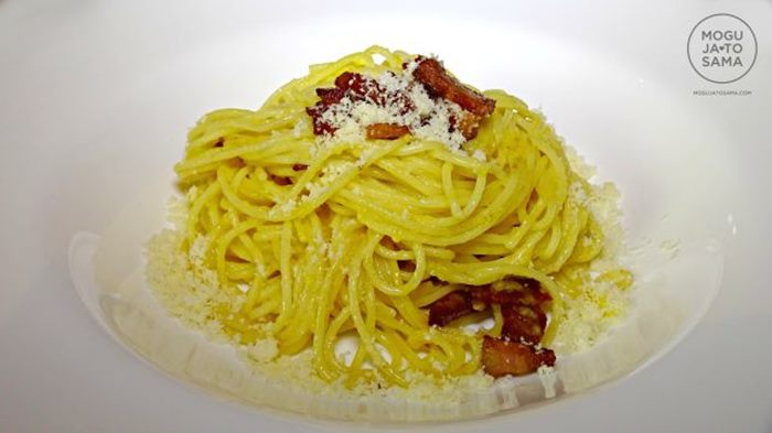 karbonara spagete