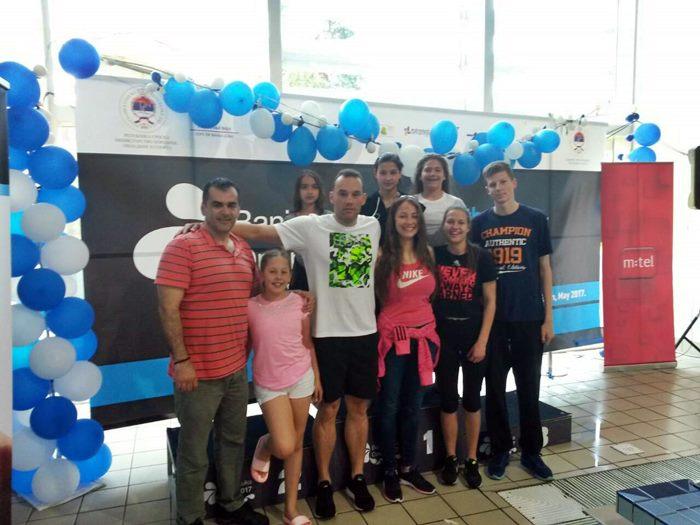 Plivaci KVS Leotar na Banjaluka Open 2017