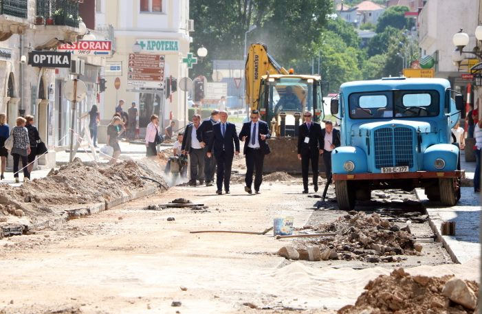 rekonstrukcija glavna ulica