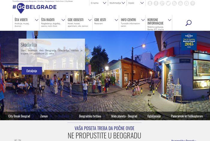 sajt turisticke organizacije beograd