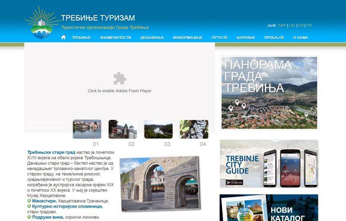 sajt turisticke organizacije trebinja
