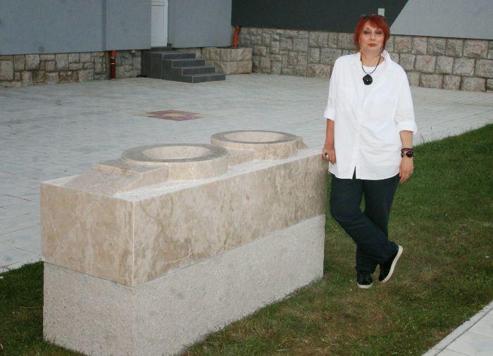 Zeljka momirov skulptura park trebinje