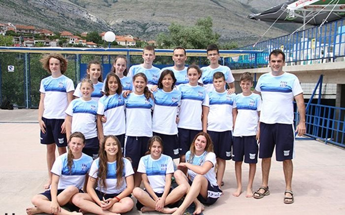 Plivaci KVS Leotar miting srdjan i maksim