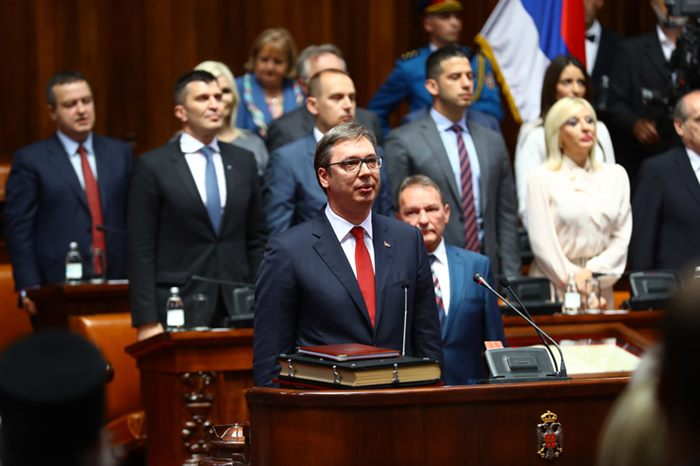 aleksandar vucic predsjednik Srbije