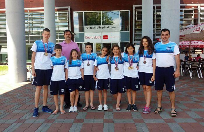 plivaci KVS Leotar prvenstvu RS 2017