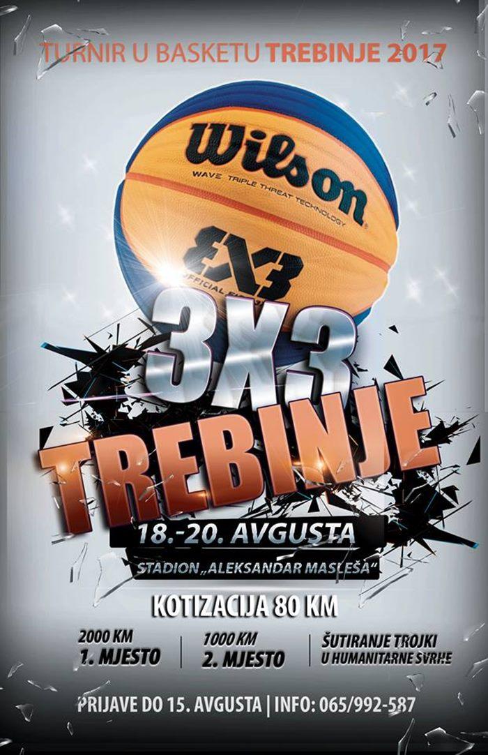 3x3 basket tirnir trebinje