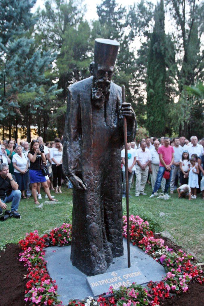 spomenik patrijarh pavle trebinje