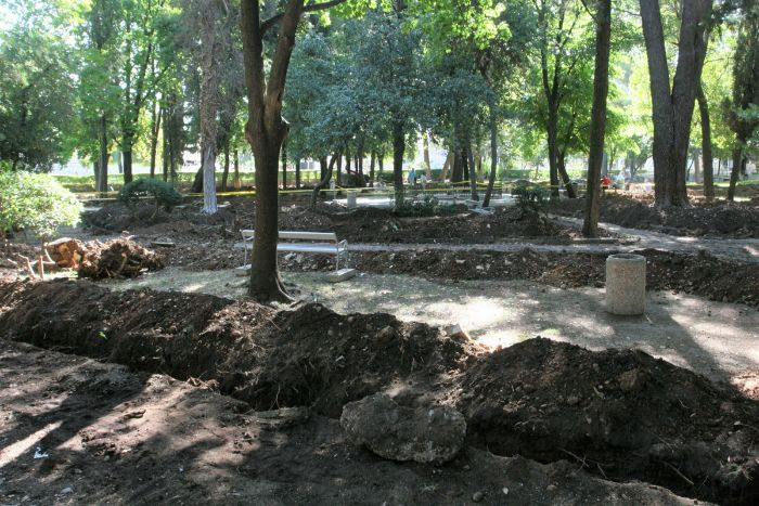 navodnjavanje gradski park trebinje